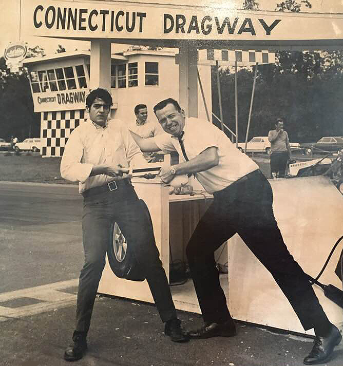 1967 grudge match between Joey Reynolds and Sandy Beach at Connecticut Dragway.