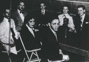WDRC's Parade of Youth panel on October 28, 1951