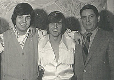 March 1970 - WDRC's Joe Hager and Charlie Parker with singer Bobby Sherman